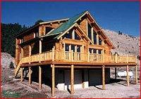 Log Cabin Building