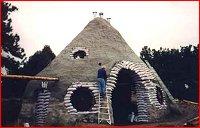 Earthbag/Papercrete Home Building